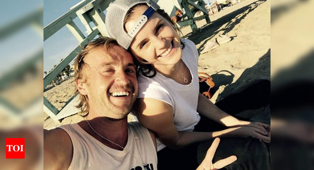Harry Potter Stars Emma Watson And Tom Felton S Reunion Sends Fans Into A Meltdown English Movie News Times Of India