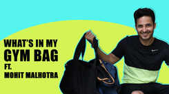 What's in my gym bag ft. Mohit Malhotra |Exclusive|
