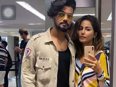 Hina Khan's special note to beau Rocky Jaiswal