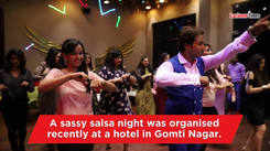 Lucknowites' great moves at this salsa party