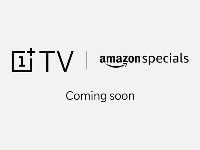 OnePlus TV will be available via Amazon in India