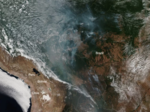 Amazon rainforest of Brazil is burning at a record rate​, fire is even seen from the Space