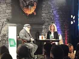 Author George R.R. Martin felicitated at Irish Book Awards