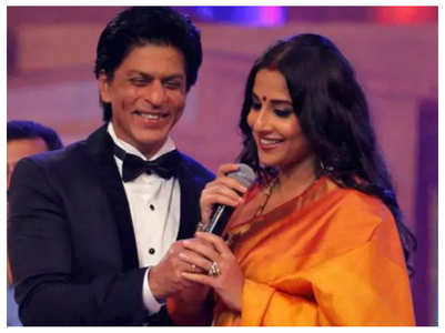 Vidya Balan on her first meeting with SRK