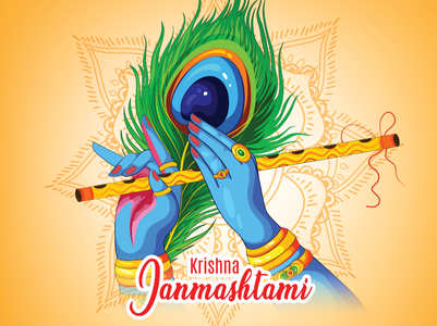 How to greet 'Happy Krishna Janmashtami' in different Indian languages
