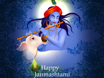 Best greeting card images to share on Gokulashtami