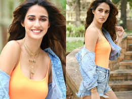 Disha Patani's denim hot pants and jacket look is all you need to slay on a date with your boyfriend