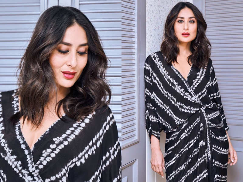 Kareena Kapoor sets the ball rolling for a new style - clamp kurta dress