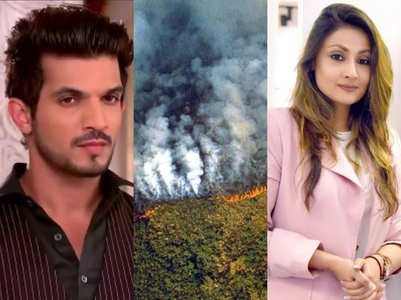 Amazon Fires: TV celebs pray for Brazil