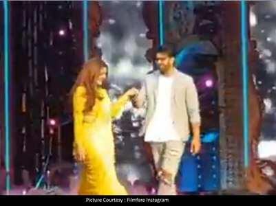 Prabhas-Raveena dance on Tip Tip Barsa Paani
