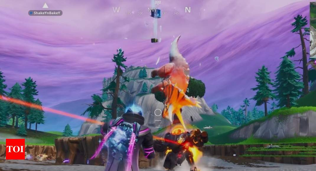 Fortnite: This new weapon in Fortnite can kill by raining