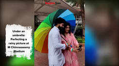 Behind the Scenes: Dheeren Ramkumar and Krishi Thapanda's shoot with BT for Independence Day