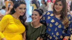 Kapil Sharma's wife Ginni Chatrath flaunts her baby bump