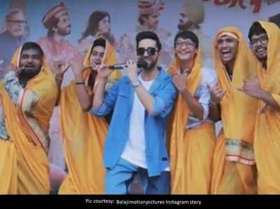 Ayushmann celebrates Janmashtami in Baroda