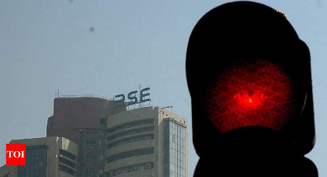 Sensex in 5-mnth trough, rupee hits yr's lowest