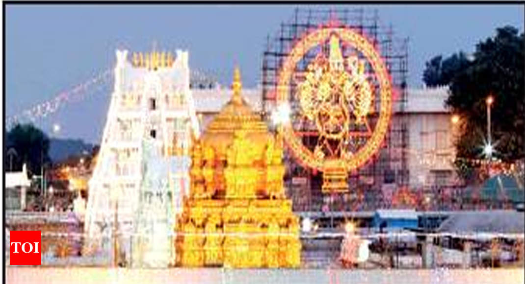 Tirupati temple board plans to build 'big' temple in Chennai - Times of India