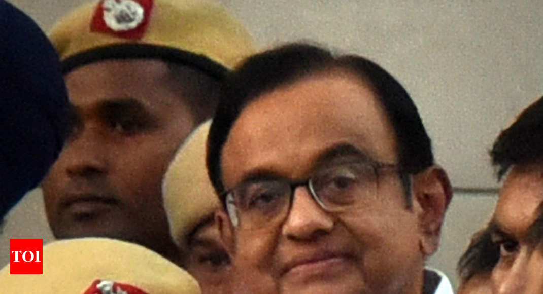 INX media case: 20 questions posed to P Chidambaram by CBI | India News - Times of India