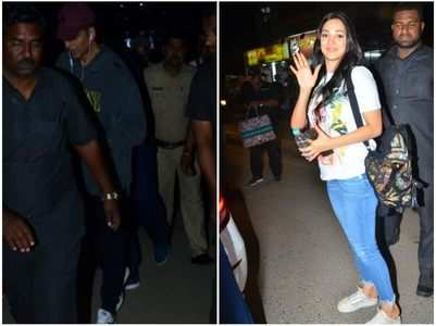 'Laxmmi Bomb': Akki-Kiara papped in the city