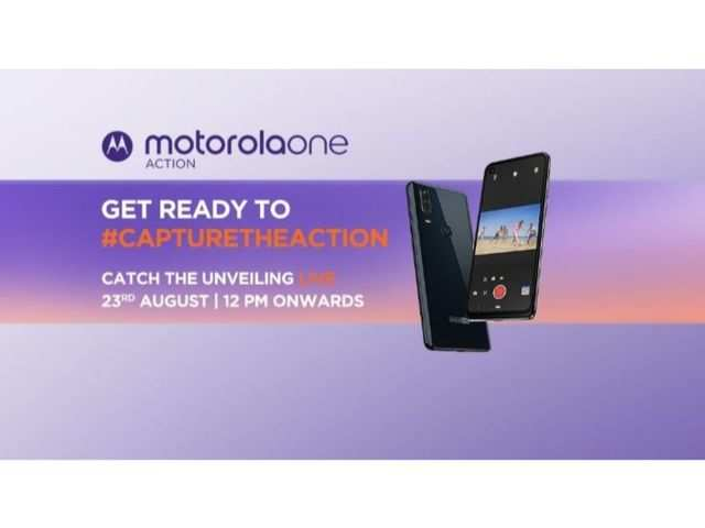 Motorola One Action to launch in India today: How to watch the livestream