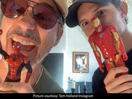 Amidst Spider-Man-MCU split, Tom Holland shares a cryptic post with Robert Downey Jr