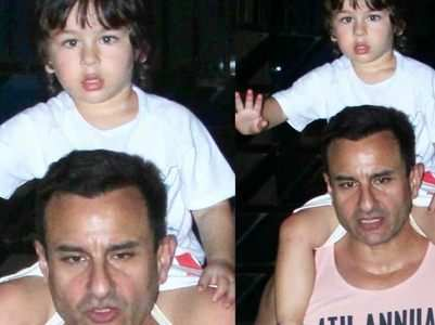 Saif yells at paparazzi for Taimur's pics