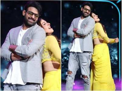 Prabhas-Raveena recreate iconic song