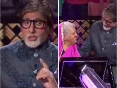 KBC 11: Big B touches Sindhutai's feet