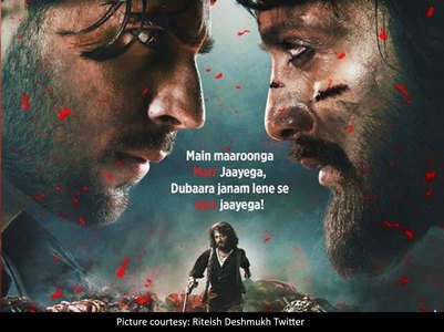Fans praise Sidharth &Riteish's first looks