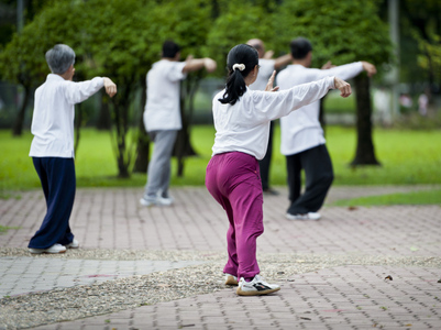 Tai Chi to beat stress