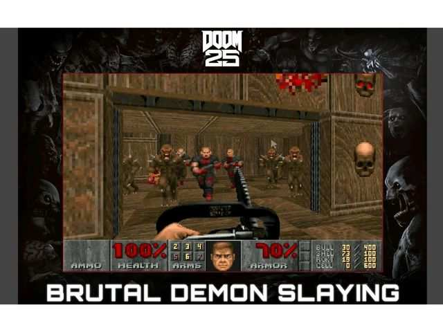 Bethesda made login as option for the Android version of Doom I and Doom II