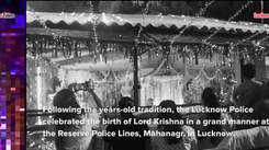 Watch the grand Janmasthmi celebrations at Reserve Police Lines