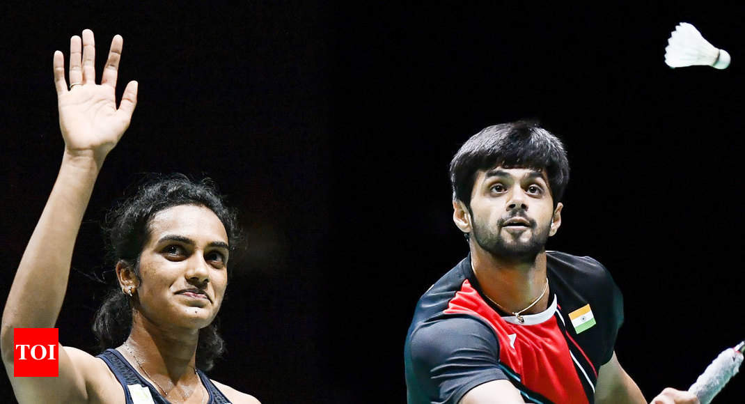 Sindhu in 3rd straight World C'ships final; Sai secures bronze