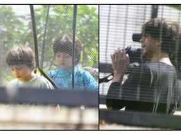 Shah Rukh Khan turns cameraman for son AbRam's Janmashtami celebrations