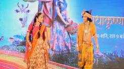 Small screen actors perform in Kanpur