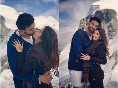 Charu-Rajeev share a passionate kiss