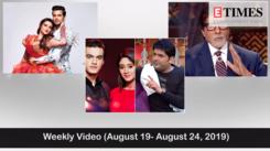 Weekly Video (August 19- August 24, 2019)