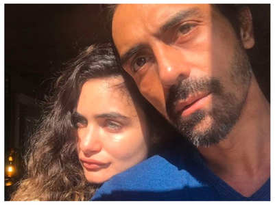 Gabriella says Arjun is a hands-on dad