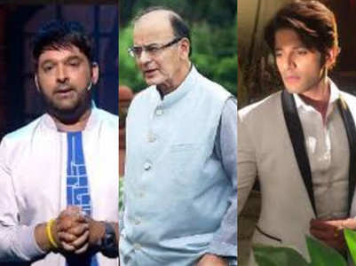 Kapil, Karanvir pay tribute to Arun Jaitley