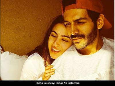 Katrik-Sara's cute 'Aaj Kal' scene leaked