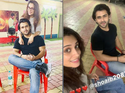 Shoaib comes to pick up Dipika from shoot