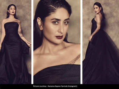 Kareena looks bewitching in her black attire