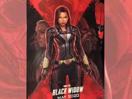 Scarlett Johansson's official 'Black Widow' movie poster unveiled!