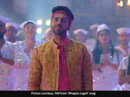 Watch: Here's a glimpse of Ayushmann, Riteish and Nushrat's 'Dhagala Lagali' song from 'Dream Girl'