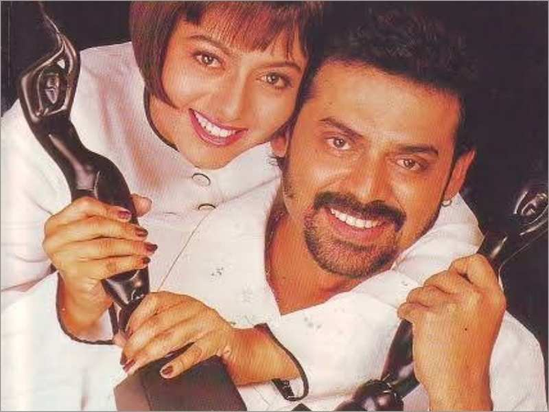 Music Monday: These 5 video songs show why Venkatesh and Soundarya is one  among the greatest on-screen pairs | Telugu Movie News - Times of India