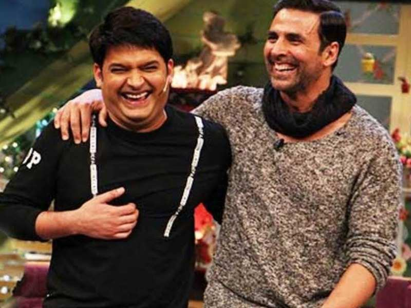 Kapil Sharma praises Akshay Kumar after the latter shares video of him  taking a stroll with mom - Times of India
