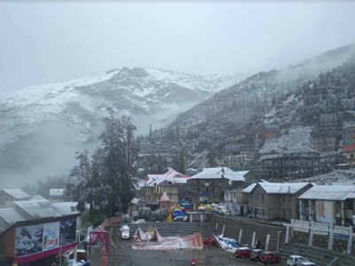 August snowfall fuels possibility of early winters | Shimla