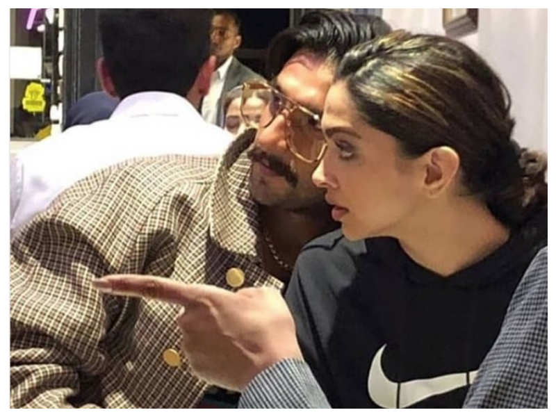 Photos: Ranveer Singh and Deepika Padukone snapped at a restaurant in London