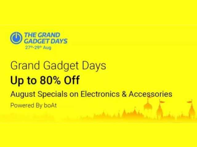 Grand Gadget Days on Flipkart: Up to 80% off on laptops, speakers, power banks and other electronics