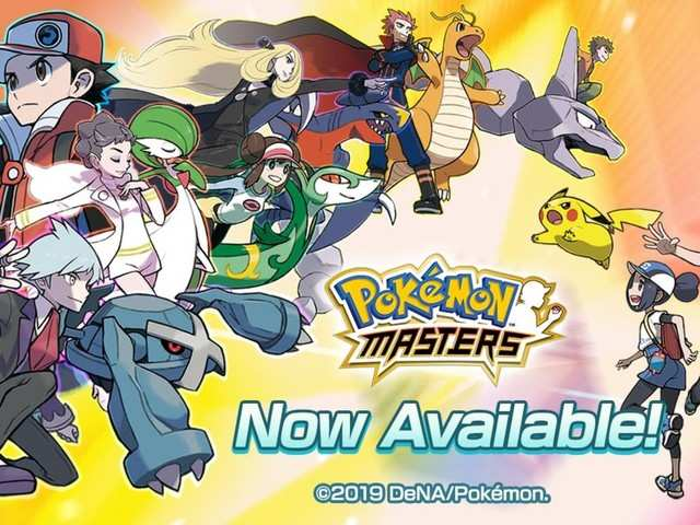 Pokémon Masters launches on Android and iOS