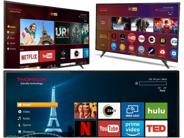 Thomson launches new TV models, price starts at Rs 18,499